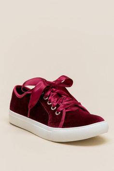 Dirty Laundry Fillmore Velvet Sneaker