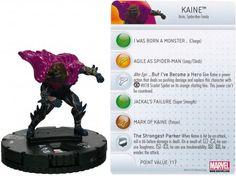 Kaine #036 Amazing Spider-Man Marvel Heroclix - Marvel: Amazing Spider-Man - Heroclix