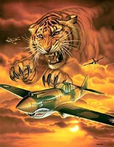 Chapter 5: The Plane. This photo makes me think about the Flying Tiger Airlines #tcpinterest