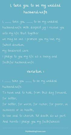 Wonderful - hearted by myweddingvows.com ♥