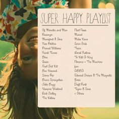 SUPER HAPPY PLAYLIST