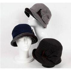 WOOL Warm earflaps Women's Fashion helmet hats: Cheap Online Sale - HatSells.com