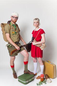Halloween Couples Costumes: Moonrise Kingdom