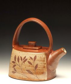 Teapot by Evelyn Ward is part of Cedar Creek Gallery's National Teapot Show IX June 6th - September 7th, 2014 in Creedmoor, NC. Visit cedarcreekgallery.com for more information.