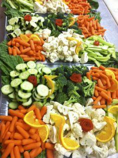 finger salad trays