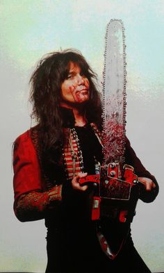 Blackie Lawless of W.A.S.P. The Crimson Idol era #BlackieLawless #wasp Heavy Metal Rock, Heavy Metal Music, Heavy Metal Bands, Music Jam, My Music, Faerie Costume, 80s Hair Metal, Rock N Roll Music, Soundtrack To My Life