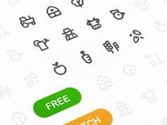 Free Farm Vector Icons