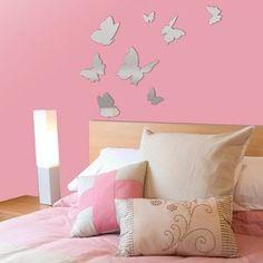 Butterfly Wall Decal | ADD HERES Mirror Butterfly Wall Decals & 111 best Butterfly Wall Decals images on Pinterest | Butterflies ...
