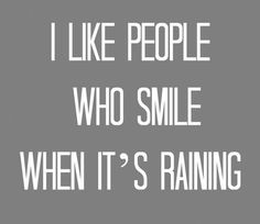 Yes!! Love the rain.