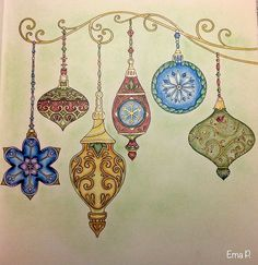 Ornaments page. Muted and soft.