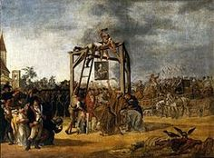 Hanging of traitors in effigie (September 29, 1794 during the Kosciuszko Uprising). Description from commons.wikimedia.org. I searched for this on bing.com/images