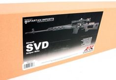 Soft Air AandK Dragunov SVD Spring Gun, Black by Soft Air. $164.91. The A Spring Dragunov SVD features a full metal body and shoots up to 450 FPS.