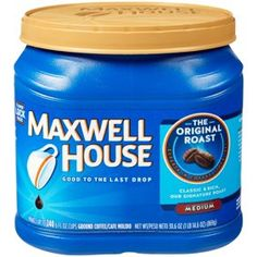 Maxwell House Original Blend Ground Coffee Medium Roast Ounce Canister * Check out the image by visiting the link. (This is an affiliate link) Maxwell House Coffee, Coffee Canister, Coffee Varieties, Good Morning Coffee, Coffee Cafe, Starbucks Coffee, Drip Coffee, Coffee Brewer, Coffee Shops