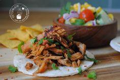Carnitas, krokant varkensvlees (slowcooker)