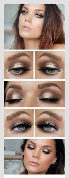 DIY/ Eye Popping Make Up!