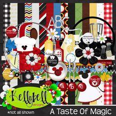 A Taste Of Magic... Disney themed digital scrapbooking