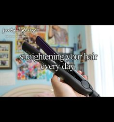 Or curling it
