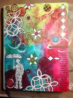 Dyan Reaveley Art Journal Cover