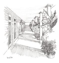 sketching light in architecture -