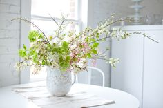 Beautiful blossom display... just pull out a jug and add the sprigs you love.