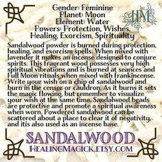 ☆The magical properties of Sandalwood☆  Healing Magick ೋ Life needs a little Magick! ******** http://HealingMagick.Etsy.com http://HealingMagick.Storenvy.com http://Instagram.com/Healing.Magick http://Twitter.com/HealingMagick http://Pinterest.com/HealingMagick http://HealingMagickBlog.Wordpress.com/  #pagan #witchcraft #witchesofinstagram #magick #magic #wicca #wiccan #spirituality #lightworkers #miracleworkers #esoteric #newage #witch #pictureoftheday #potd #spells #soul #essentialoils…