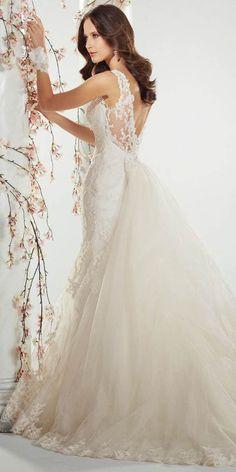 Best Sophia Tolli Wedding Dresses ❤ See more: http://www.weddingforward.com/sophia-tolli-wedding-dresses/ #weddings