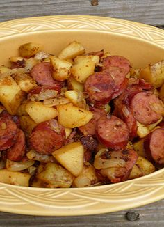 Kielbasa and Potatoes recipe - easy meal
