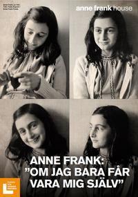 """Anne Frank – """"Om jag bara får vara mig själv"""" är en miniutställning som du kan skriva ut och sätta upp,för att visa på t. ex. ditt bibliotek eller din skola i samband med Förintelsens minnesdag den 27 januari.Då utställningen är ett samarbete med Anne Frank House i Nederländerna är användningen begränsad:den får endast visas inom Sverige och endast till och med år 2020.Utställningen har sinutgångspunkt i Anne Franks liv och utforskar teman somidentitet, fördomar och synen på d..."""