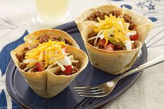 ... mini salad bowls—and a mouthful of beef, cheese, ripe tomatoes and