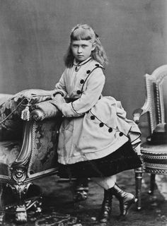 Princess Irene of Hesse, December 1873 [in Portraits of Royal Children Vol.18 1873-74] | Royal Collection Trust