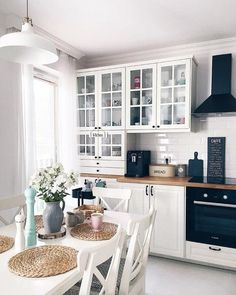 Security Check Required - (New) The 10 Best Home Decor Ideas Today (with Pictures) – The kitchen in neutral tones is a good - Home Decor Kitchen, Kitchen Interior, Home Interior Design, Home Kitchens, Küchen Design, House Design, Cuisines Design, Home Decor Inspiration, Decor Ideas