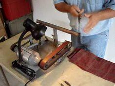 The Jackson Edge Knife Sharpening Machine - YouTube