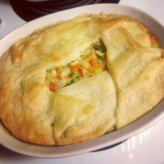 Weight watchers chicken pot pie! The best recipe so far :)