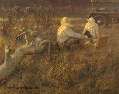 Shadows in the Grass    Not Just Wildlife Art of John & Suzie Seerey-Lester