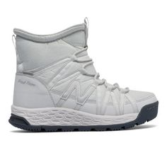 62fa626af99 Fresh Foam 2000 Boot Women s Boots - White Grey (BW2000WT) Ankle Shoes