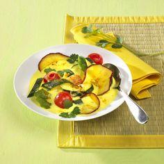 Unser beliebtes Rezept für Bunter Gemüseeintopf und mehr als 55.000 weitere kostenlose Rezepte auf LECKER.de.