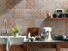 Ceramiczny zlew w kuchni