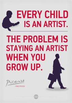 Wish I still had the creativity I had as a child!