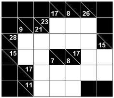 Number Logic Puzzles: 23691 - Kakuro size 1