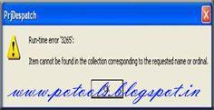 HVMO list preparation Error & Solutions in Despatch 7.8 | PO TOOLS