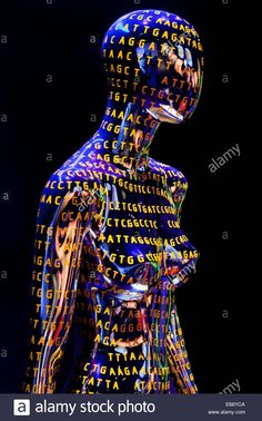 Stock Photo - Female figure with DNA sequence illustrating Human Genome - USA Human Genome, Dna, Stock Photos, Female, Vectors, Fictional Characters, Illustrations, Illustration, Gout