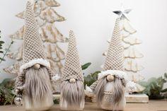 Scandinavian Christmas Decorations, Scandinavian Gnomes, Scandinavian Style, Holiday Decor, Minimalist Scandinavian, Christmas Gnome, Rustic Christmas, Christmas Presents, Swedish Tomte