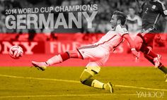 Thanks to a brilliant goal from Mario Goetze, Germany are the 2014 #WorldCup champions. Götze has achieved footballing immortality.