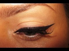Perfect Winged Eyeliner (my secret weapon)