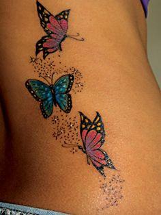 tatuagem borboletas - Pesquisa Google
