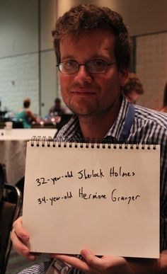 YA author John Green thinks Sherlock Holmes and Hermione Granger (at the same age) would make a great couple. Which characters do you think would have interesting chemistry together? Scorpius And Rose, The Nerd, Hank Green, John Green Books, Fandom Crossover, I Ship It, What Do You Mean, The Fault In Our Stars, It Goes On