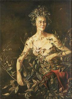 * Mrs. Hasellter. 1942-43 - Leonor Fini