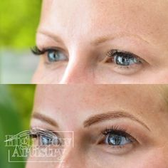 Microblading done right. Highbrow Artistry in Lexington KY www.highbrowbrowbar.com