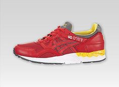 Asics GEL-Lyte V(Fiery Red/White) #bestsneakersever.com #