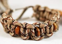 Paracord and Tiger's Eye